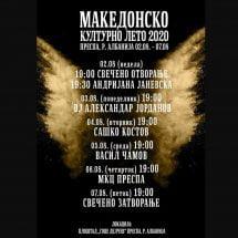 Македонско културно лето 2020 во Албанија