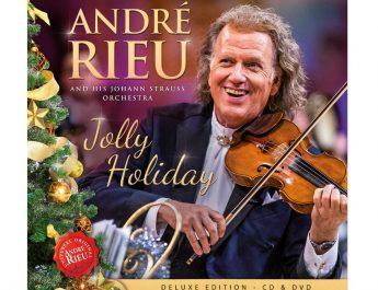 """Андре Риу со ново издание """"Jolly Holiday"""""""